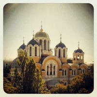 Photo taken at St Volodymyr's Cathedral by Vadimio on 9/6/2012