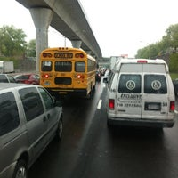 Photo taken at Van Wyck Expressway (I-678) by Dan D. on 5/2/2012