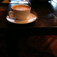 Photo taken at Bourbon Coffee DC by Heather M. on 3/15/2012
