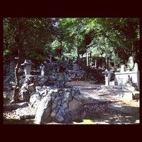 Photo taken at 竹中稲荷神社 by Yuka N. on 9/3/2012
