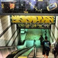 Photo taken at 7th St/Metro Center (Julian Dixon) Metro Station by Photo L. on 8/25/2012
