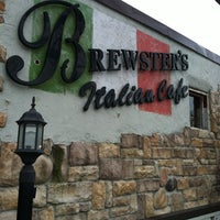 Photo taken at Brewster's Italian Café by Dwayne D. on 2/21/2012