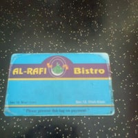 Photo taken at Restoran Al-Rafi Bistro by Are R. on 2/7/2012