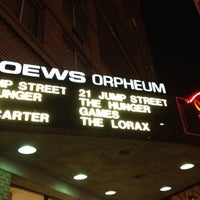 Photo taken at AMC Loews Orpheum 7 by Shiralee L. on 3/23/2012