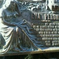 Photo taken at Mausoleo de Eva Perón by Lucas B. on 6/7/2012