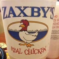 Photo taken at Zaxby's Chicken Fingers & Buffalo Wings by Monica B. on 7/9/2012