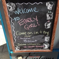 Photo taken at Early Girl Eatery by Dru C. on 5/10/2012