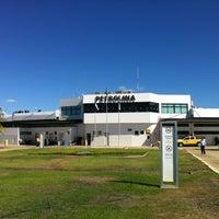 Photo taken at Petrolina Senator Nilo Coelho Airport (PNZ) by Carlos V. on 5/30/2012