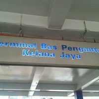 Photo taken at RapidKL Kelana Jaya (KJ24) LRT Station by Minaminpg A. on 4/7/2012