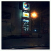 Photo taken at Total Gas Station by Francis C. on 7/1/2012