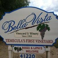 Photo taken at Bella Vista Winery by Randy B. on 2/19/2012