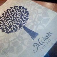 Photo taken at Moksha by Kartik K. on 2/11/2012