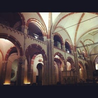 Photo taken at Basilica di Sant'Ambrogio by Federica T. on 2/10/2012