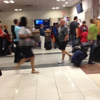Photo taken at Gate D16 by Pufi C. on 5/7/2012