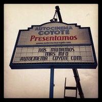 Photo taken at Autocinema El Coyote by Argel M. on 5/12/2012
