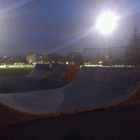 Photo taken at Skatepark Père-Marquette by Bertrand B. on 4/23/2012