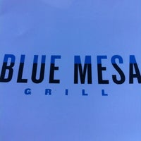 Photo taken at Blue Mesa Grill by Mark S. on 5/19/2012