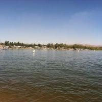 Photo taken at Lake Elsinore Marina by Derek H. on 4/21/2012