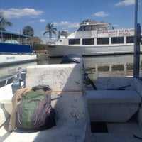 Photo taken at Everglades National Park Boat Service by Victoria H. on 4/9/2012