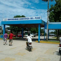 Photo taken at Universidad Científica del Perú by Jorge F. on 4/28/2012