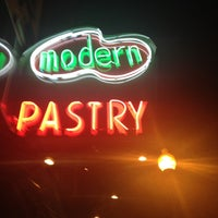 Photo taken at Modern Pastry Shop by Jerrod C. on 7/15/2012