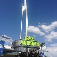 Photo taken at Space Mountain by Todd on 7/28/2012