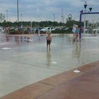 Photo taken at Splash Pad by Trish S. on 6/4/2012