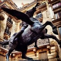 Photo taken at Square de l'Opéra-Louis Jouvet by Denise V. on 4/14/2012