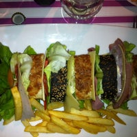 Photo taken at Blanc à Manger by Veronica S. on 4/1/2012