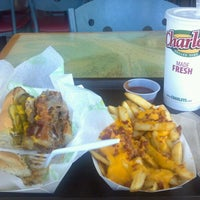 Photo taken at Charley's Grilled Subs by Heather S. on 4/2/2012