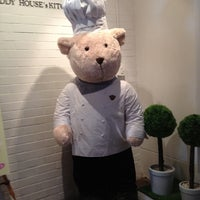 Photo taken at Teddy Bear Cafe @ Siam by Ki Ki Y. on 7/21/2012