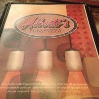 Photo taken at Alberto's Pub & Pizza by Correna J. on 7/6/2012