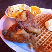 Photo taken at Home Of Chicken and Waffles by Arnold G. on 8/19/2012