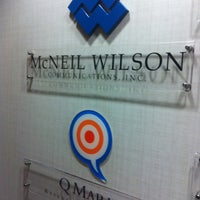 Photo taken at McNeil Wilson Communications by Damian D. on 4/25/2012