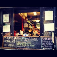 Photo taken at Num Pang Sandwich Shop by kristy b. on 7/16/2012