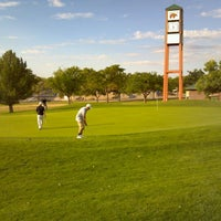 Photo taken at Arroyo Del Oso Golf Course by Nicole D. on 9/8/2012