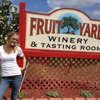 Photo taken at Fruit Yard Winery by Ben Z. on 8/12/2012