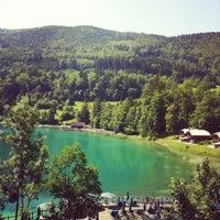 Das Foto wurde bei Schloss Fuschl Resort & Spa, Fuschlsee-Salzburg von Maria A. am 6/30/2012 aufgenommen
