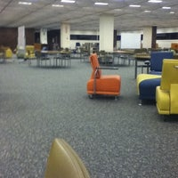 Photo taken at IPFW Helmke Library by Ahmad A. on 9/5/2012