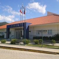 Photo taken at Forum de Porto Belo SC by José Vitor L. on 4/23/2012
