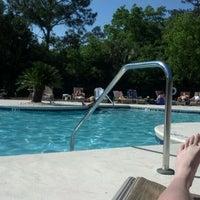 Photo taken at Hoover Creek Pool by Sue N. on 4/29/2012