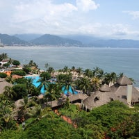 Photo taken at Meliá Vacation Club Puerto Vallarta by Abril V. on 8/6/2012