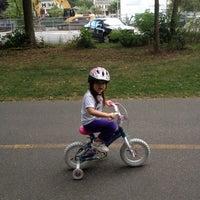 Photo taken at Minuteman Commuter Bikeway by Alfred C. on 9/2/2012