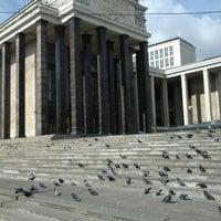 Российская государственная библиотека Библиотека в Москва  Снимок сделан в Российская государственная библиотека пользователем shikate 7 19 2012