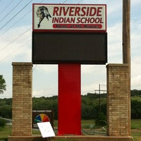 Photo taken at Riverside Indian School by Summer on 5/19/2012