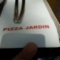 Photo taken at Pizza Jardin by Vicente M. on 4/8/2012