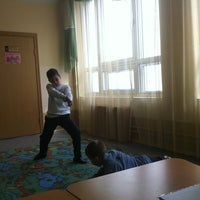 Photo taken at Школа №1440 by Илья Р. on 5/15/2012