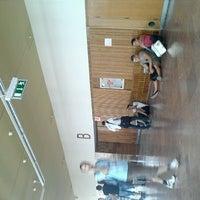 Photo taken at BME E1.B előadóterem by Csonka L. on 9/3/2012