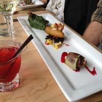 Photo taken at Leaf Vegetarian Restaurant by Megan B. on 4/14/2012