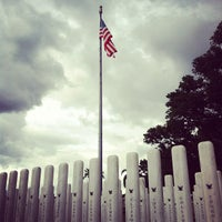 Photo taken at USS Oklahoma Memorial by ro c. on 9/8/2012